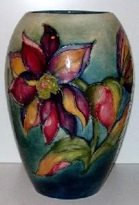 Dahlia Moocroft Vase